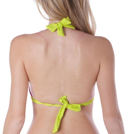 Sujetador Bikini UP Tringulo Morado Mujer