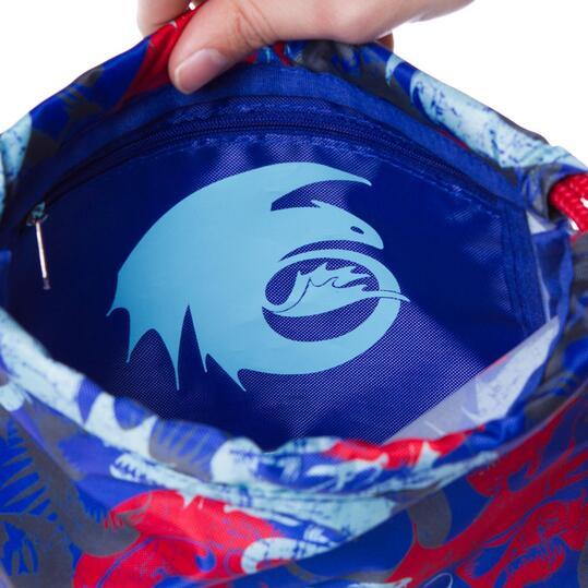 Gymsack DRAGoN Azul Niño