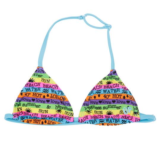 Top Bikini UP Rayas Niña