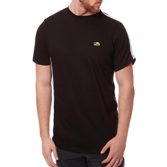 Camiseta Moda SILVER Bsicos Negro Hombre