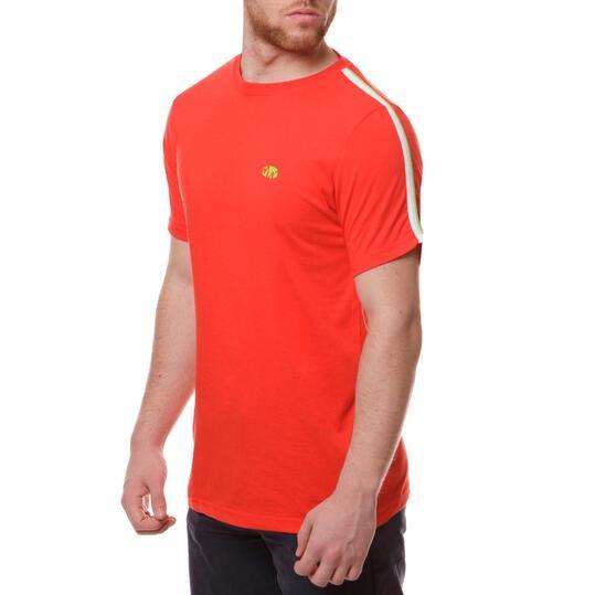Camiseta Moda SILVER Bsicos Rojo Hombre