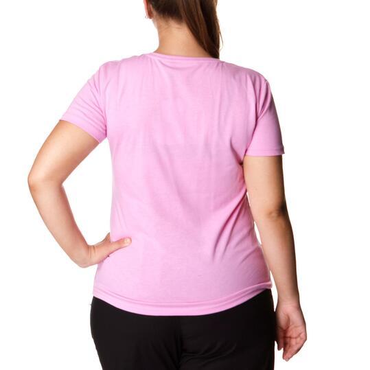 Camiseta Moda SILVER Rosa Lady