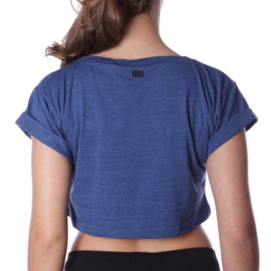 Camiseta Moda SILVER Stamps Marino Mujer