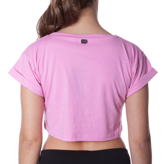 Camiseta Moda SILVER Stamps Rosa Mujer