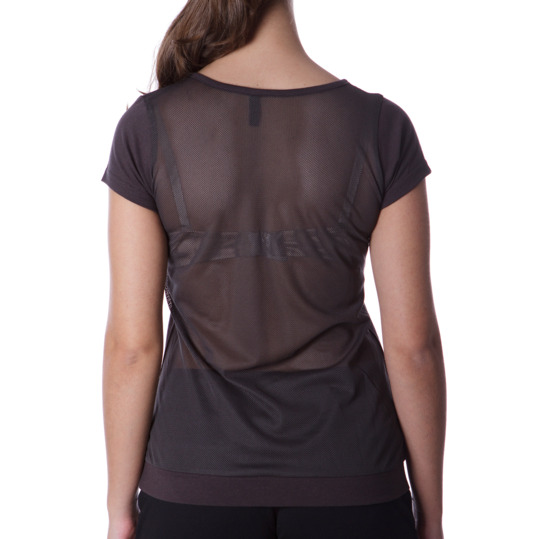 Camiseta SILVER Stamps Gris Mujer