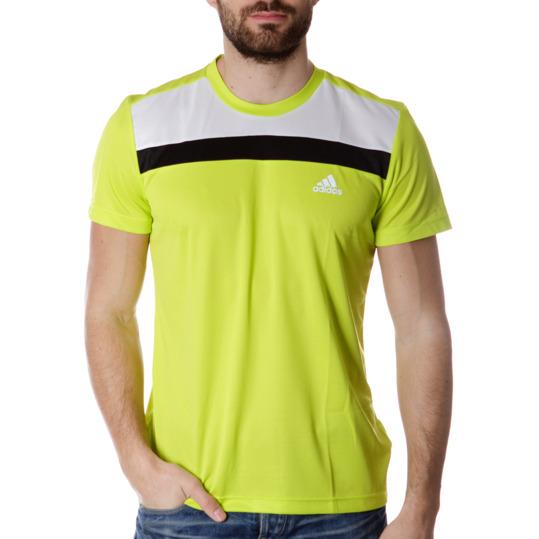 Camiseta Deporte ADIDAS Amarillo Hombre