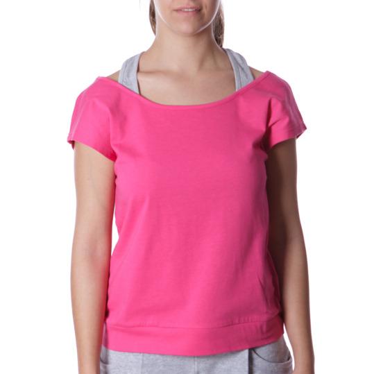 Camiseta SILVER Bsicos Fucsia Mujer