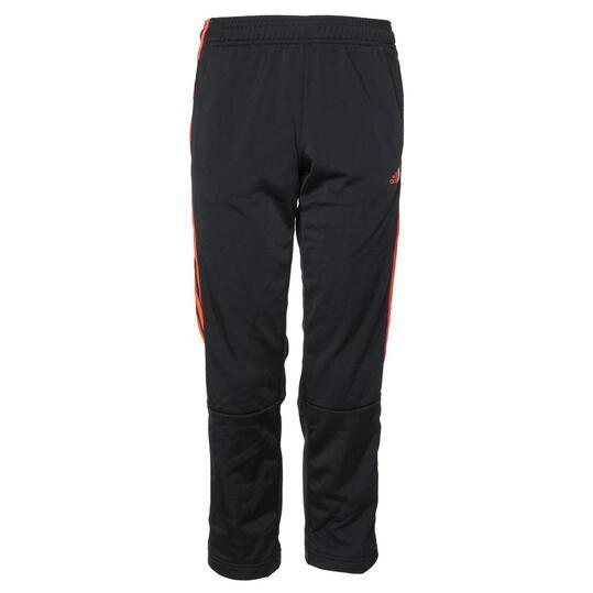 Pantalón Deporte ADIDAS Negro Naranja Niño