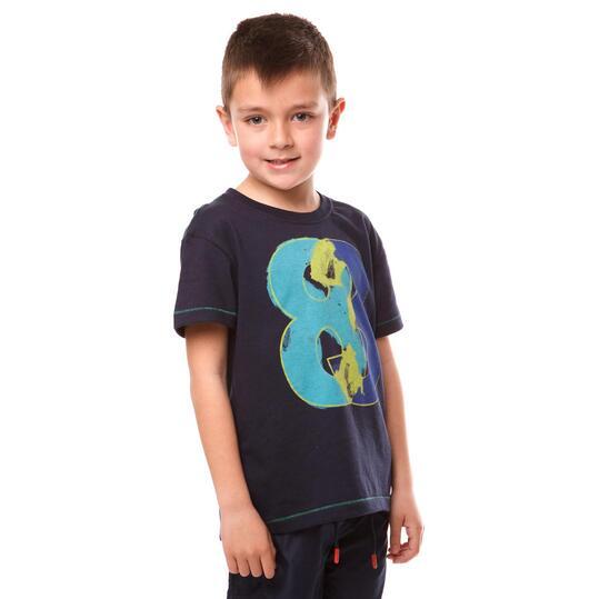 Camiseta Moda SILVER Vansy Marino Niño (2-8)