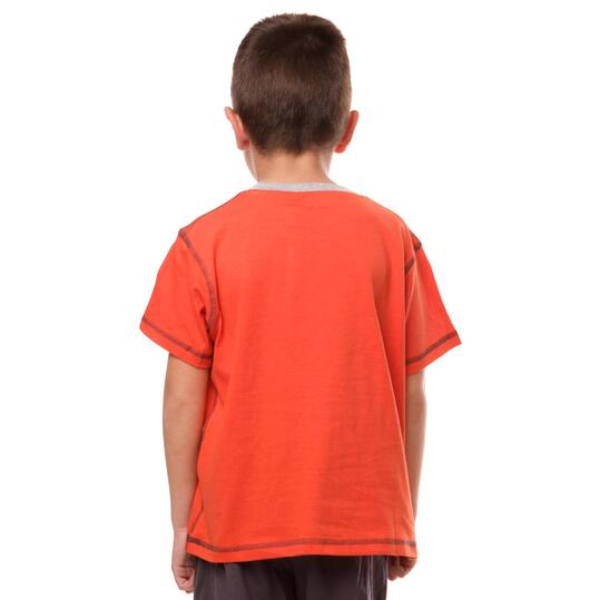 Camiseta SILVER Gorras Rojo Niño (2-8)