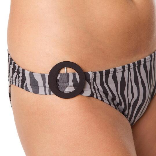 Bikini Mujer SILVER Estampado Cebra