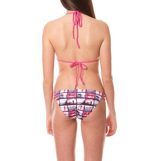 Bikini mujer SILVER Estampado Rosa