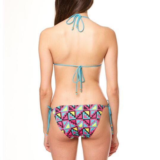 Bikini triángulo mujer SILVER Azul