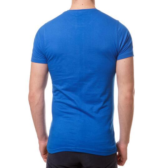 Camiseta Moda TRUNK & RooTS Tanos Azul Hombre
