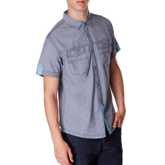 Camisa Moda TRUNK & RooTS Marino Hombre
