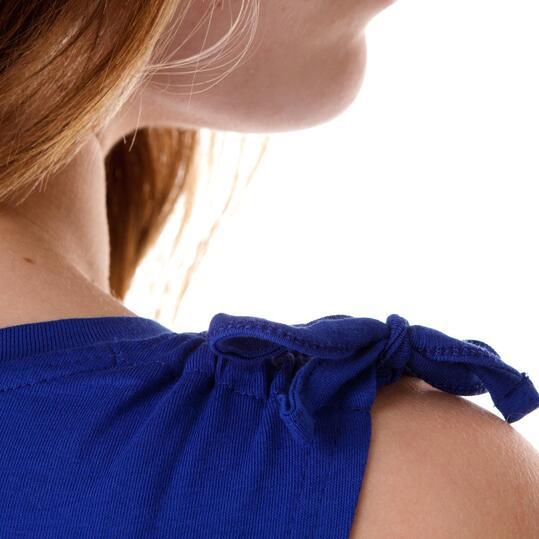 Camiseta Moda TRUNK & RooTS Quino Azul Mujer