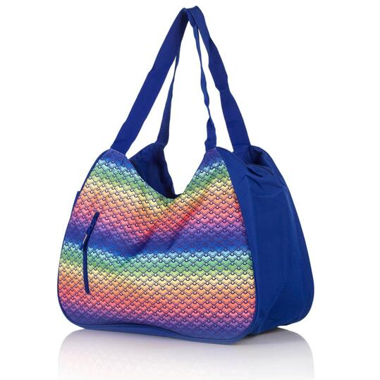 Bolso Playa SILVER Azul Mujer