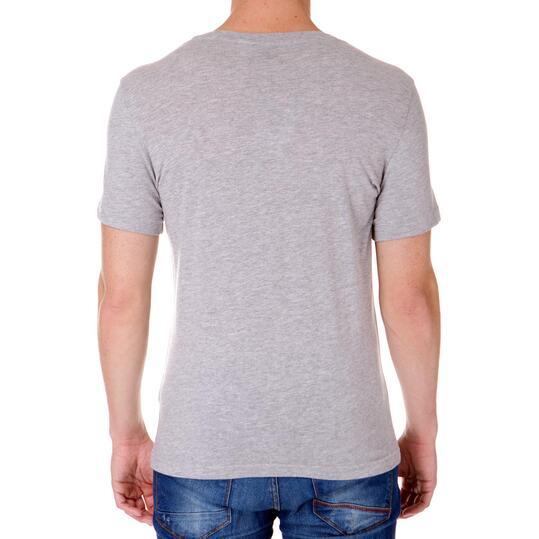 Camiseta Moda REEBoK Gris Hombre