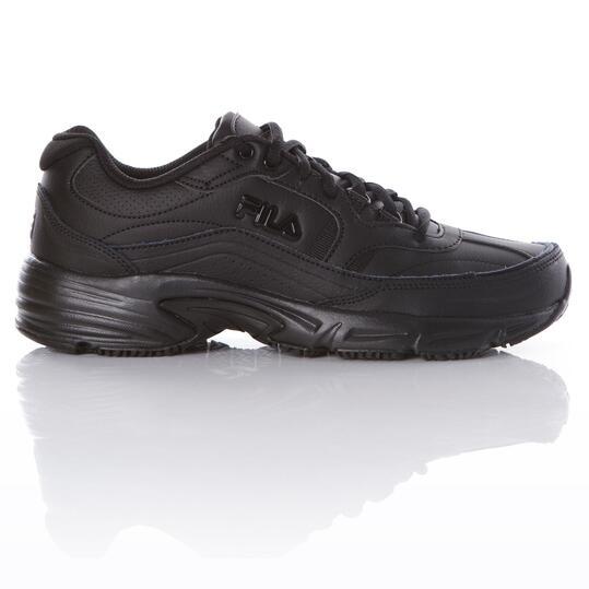 información para textura clara colores y llamativos Zapatillas Running Fila Workshift Negro Hombre