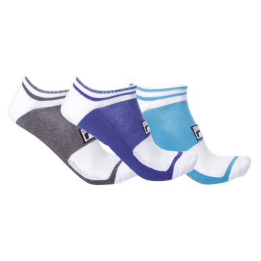 Pack 3 Calcetines FILA Blanco Hombre