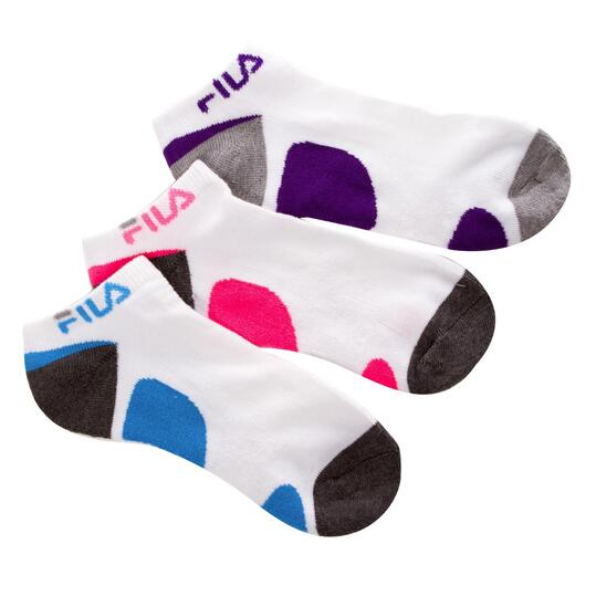 Pack 3 Calcetines FILA Blanco Mujer