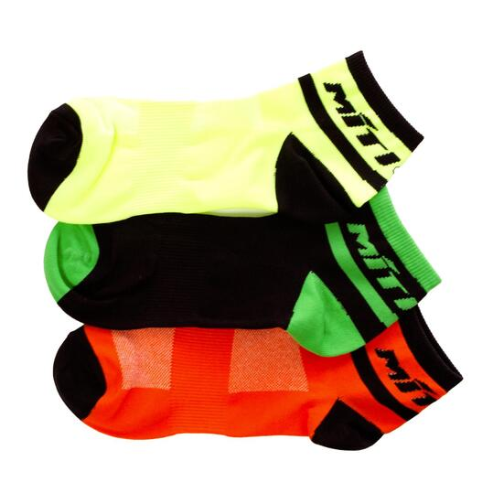 Calcetines Tobilleros Ciclismo MÍTICAL Pack 3 Hombre
