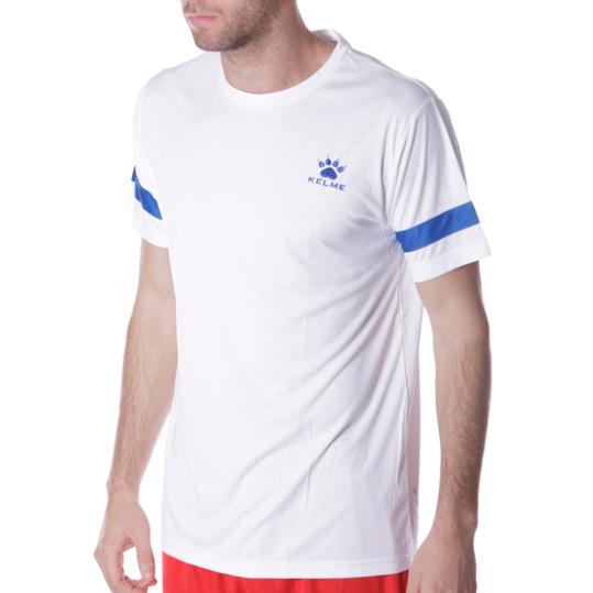 Camiseta Fútbol KELME Blanco Hombre