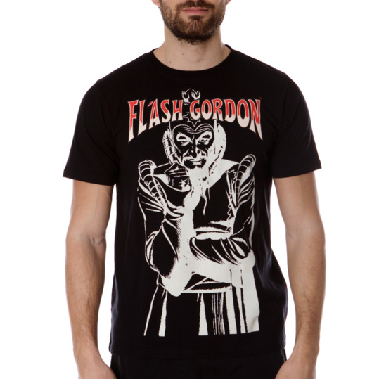 Camiseta Moda FLASH GoRDoN Negro Hombre