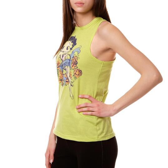 Camiseta Moda BETTY BooP Pistacho Mujer