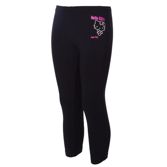 Pantalón Moda HELLo KITTY Negro Niña