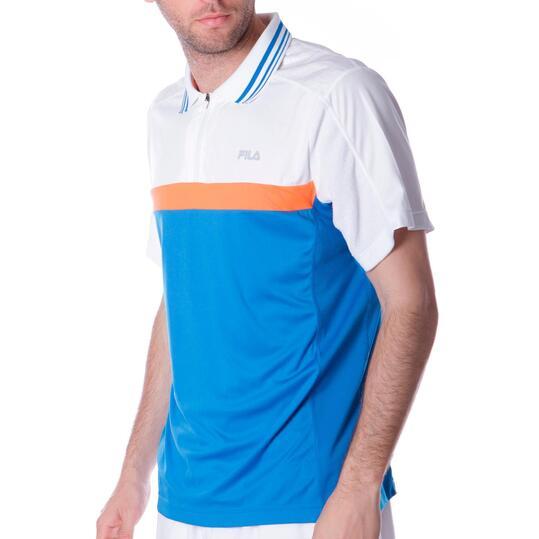 Polo Tenis FILA Azul Hombre