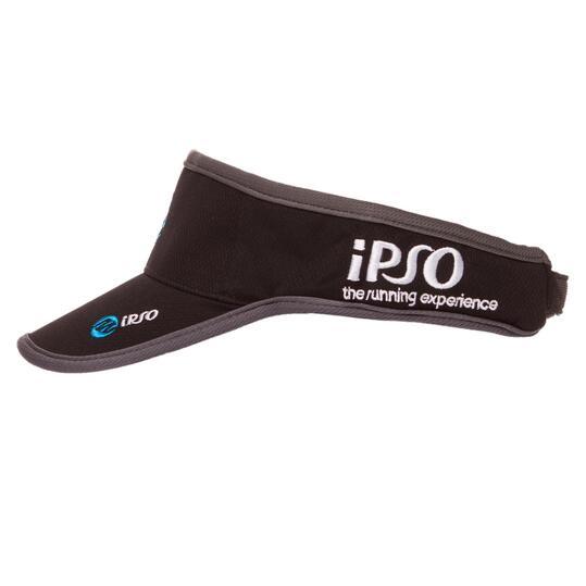 Visera Running IPSO Negro Azul Unisex