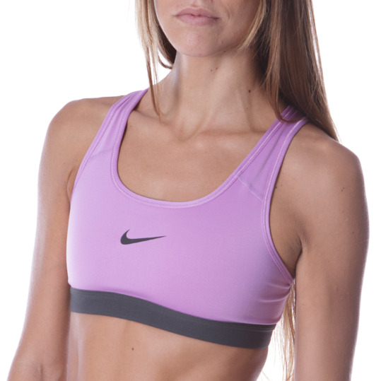 Top Fitness NIKE Classic Lila Mujer