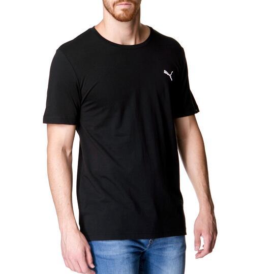 Camiseta Moda PUMA Ess Tee Negro Hombre