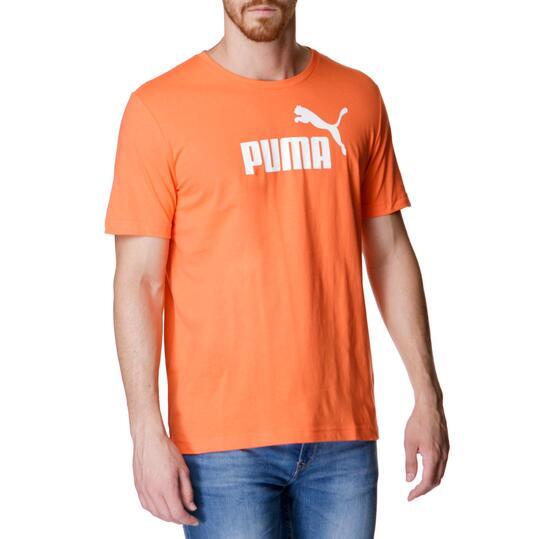Camiseta Moda PUMA Nº1 M/C Naranja Hombre