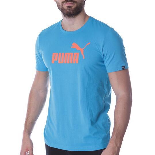 Camiseta Moda PUMA Nº1 M/C Azul Hombre