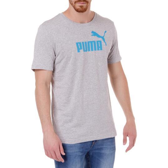 Camiseta Moda PUMA Nº1 M/C Gris Vigoré Hombre
