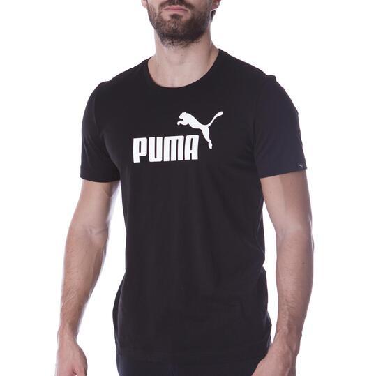 Camiseta Moda PUMA Nº1 M/C Negro Hombre