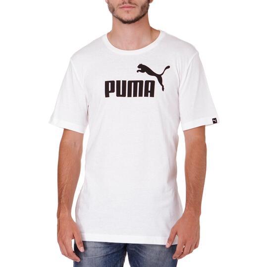 Camiseta Moda PUMA Nº1 M/C Blanco Hombre