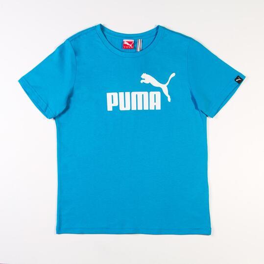 Camiseta Moda PUMA Large Azul Niño (8-16)