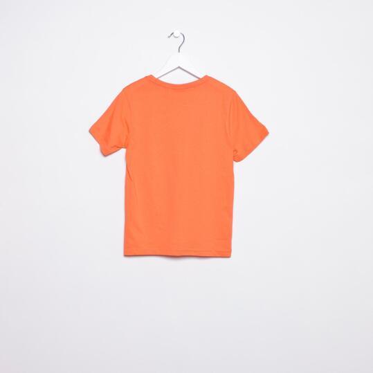 Camiseta Moda PUMA Large Naranja Niño (8-16)