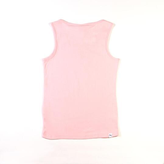 Camiseta Moda PUMA Tank Rosa Niña (8-16)