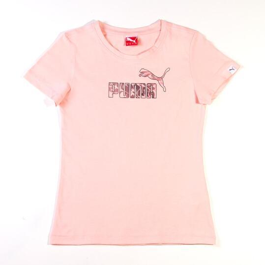Camiseta Moda PUMA Large Rosa Niña (8-16)