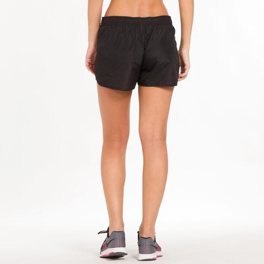 Pantalones Cortos Running Mujer IPSo BASIC Negro