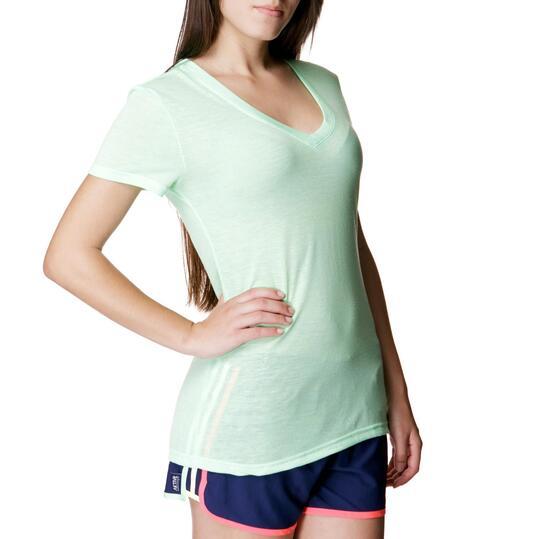 ADIDAS Vintage Tee Camiseta Verde Mujer