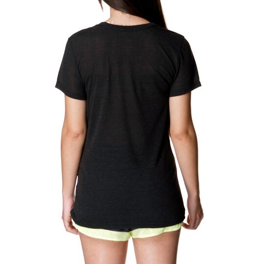 ADIDAS Vintage Tee Camiseta Negra Mujer