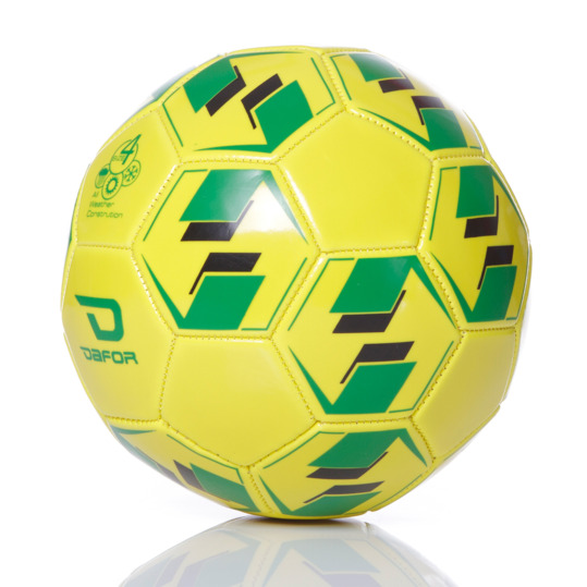 Balón Fútbol Turf DAFOR Trainning Amarillo