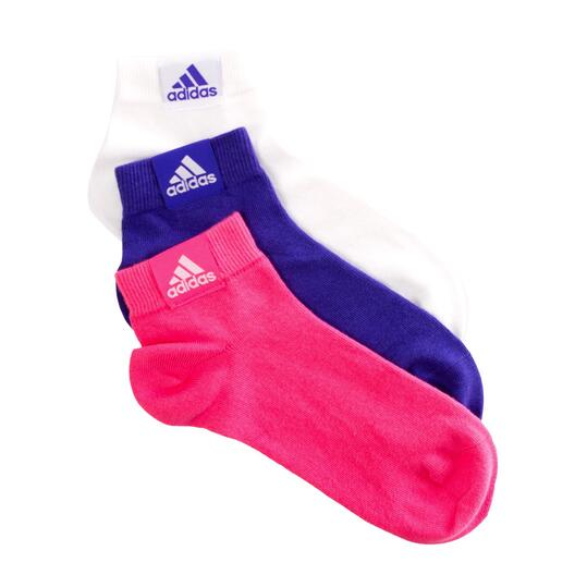 Pack 3 CalcetinesADIDAS Ankle Plain Mujer