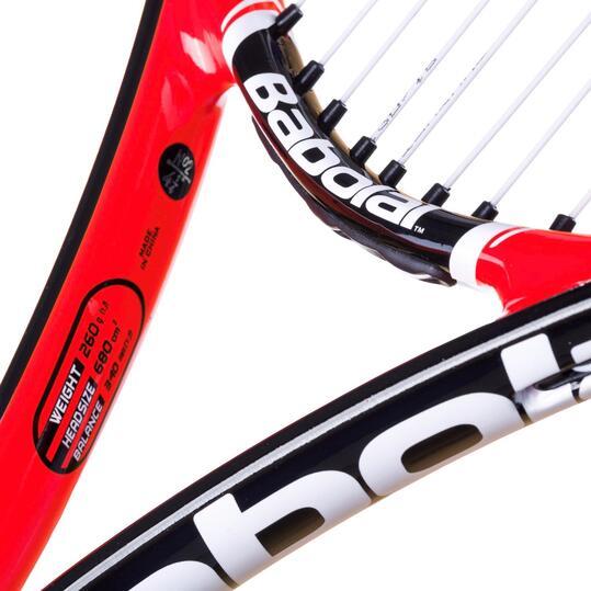 Raqueta Tenis BABoLAT Pulsion 105 Negro Rojo