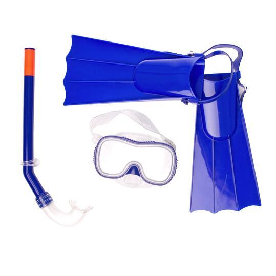 PARAQUA Kit de Buceo Azul Niño (30-34)